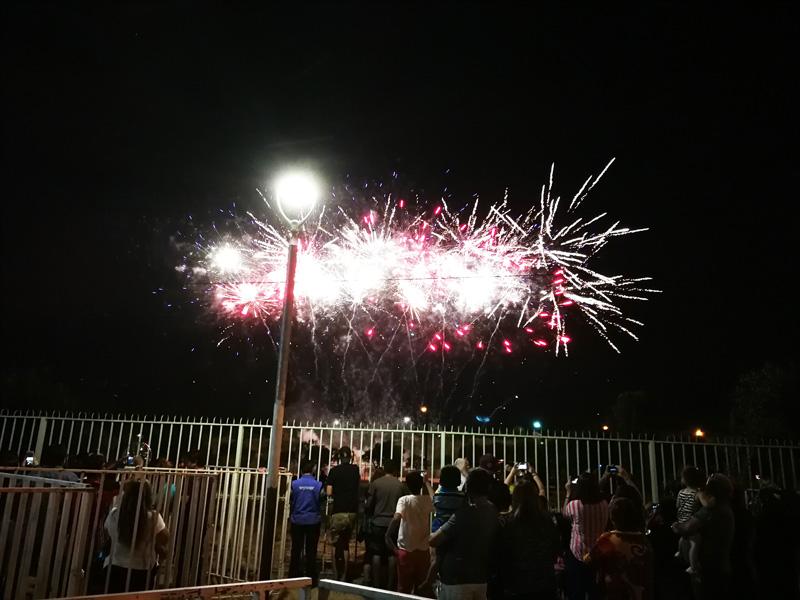 Fiesta De Fuegos Artificiales 2018 Cincuenta Mil Miradas Hacia El